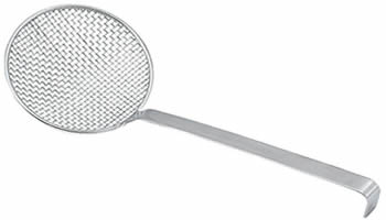 One Stainless Wire Mesh Skimmer With Long Handle