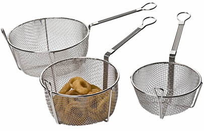 Wire Fry Basket | Fry Basket For Food Deep Frying Or Presentation